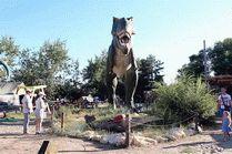 Тираноозавр в Анапе