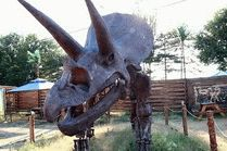 Динозавры в динопарке в Анапе