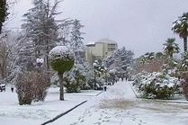 Курорт Сочи зимой