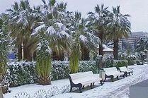 Город Сочи зимой