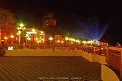 Ночное фото города Анапа