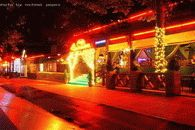 Фото ночной Анапы