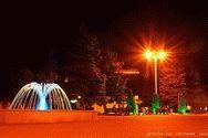 Курорт в ночное время