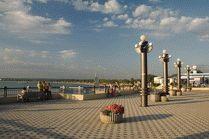 Набережная курорта Анапа