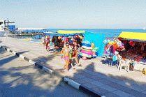 Набережная курорта Алушта