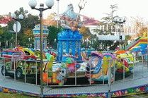 Лунапарк в городе Сочи