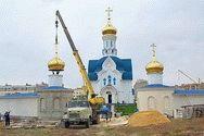 Строительство храма Державной иконы в Анапе