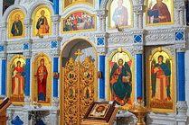 Внутри Храма иконы Божией Матери Державная в Анапе