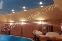 Натяжные потолки Современный стиль в Анапе
