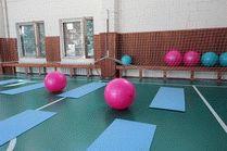 Спортивный зал в санатории «Родник»