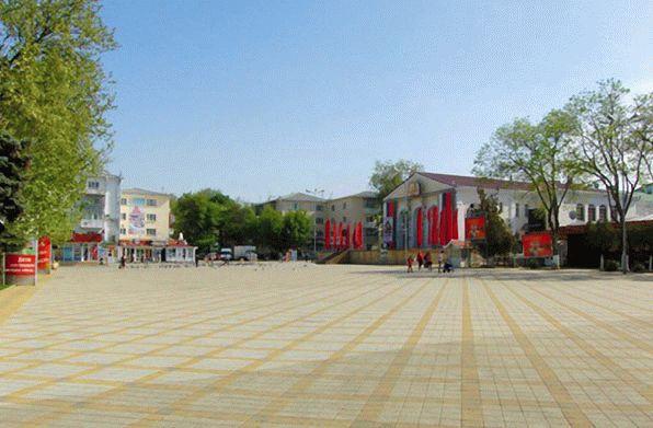 Театральная площадь в Анапе