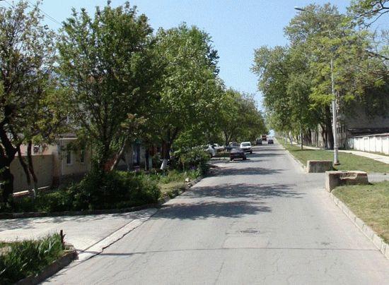 Улица 40 лет Победы в Анапе
