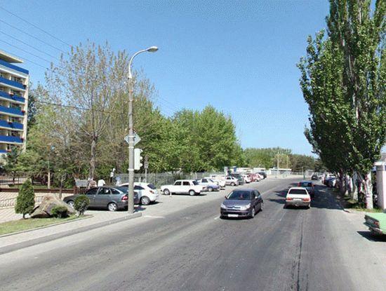 Улица Красноармейская в Анапе