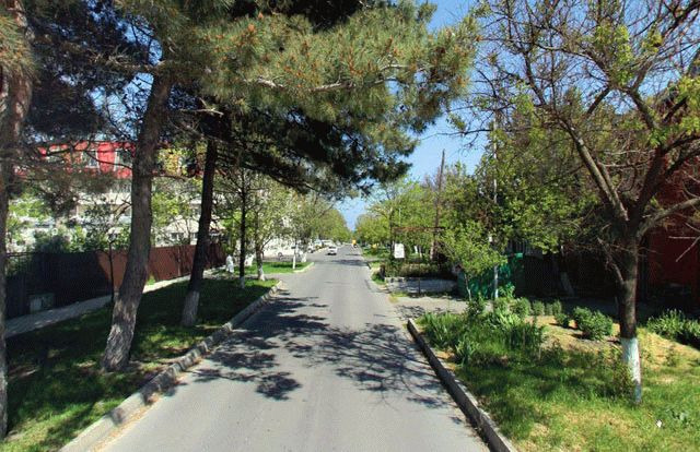 Улица Таманская в Анапе