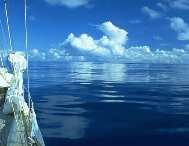 Цвет воды Черного моря