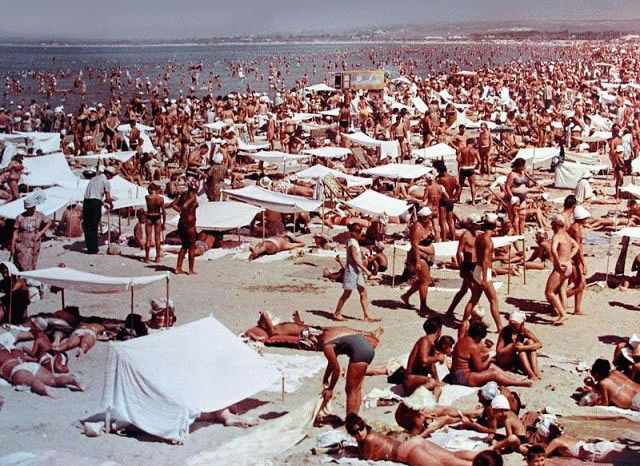 Фото пляжа анапы 1965 г