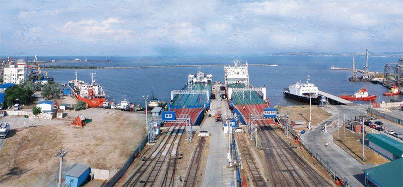 Сегодня морской порт Кавказ