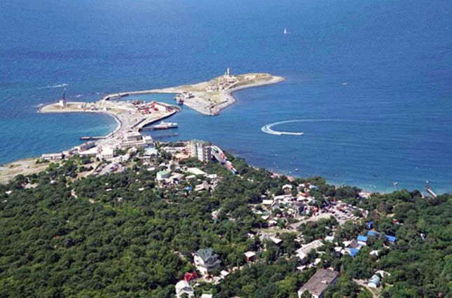 Поселки Черного моря
