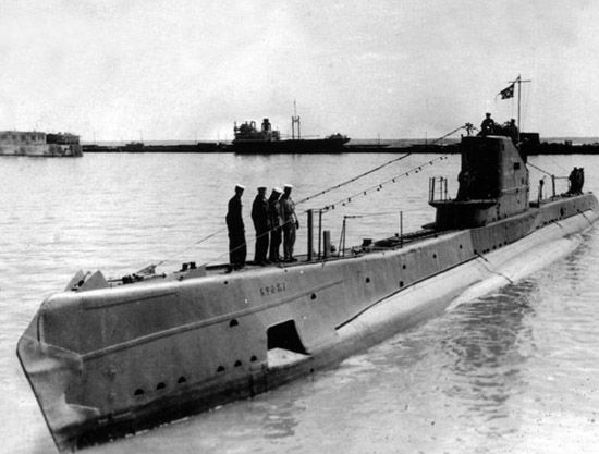 список подводных лодок вов