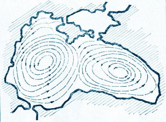 Течения Черного моря