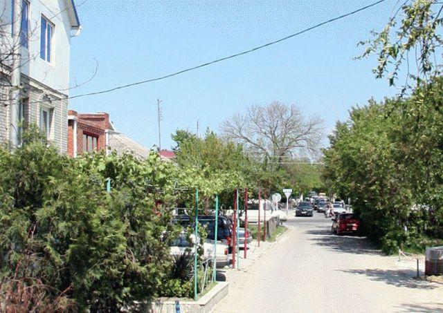 Улица Кати Соловьяновой в Анапе