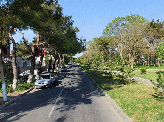 Улица Крепостная в Анапе