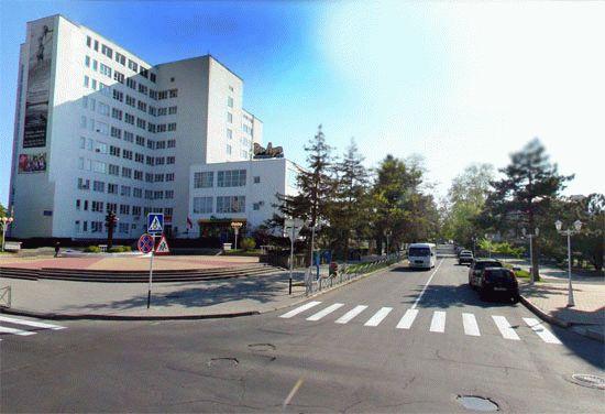 Улица Пушкина в Анапе