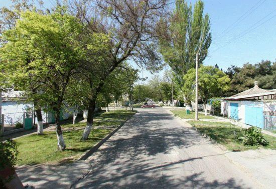 Улица Советская в Анапе