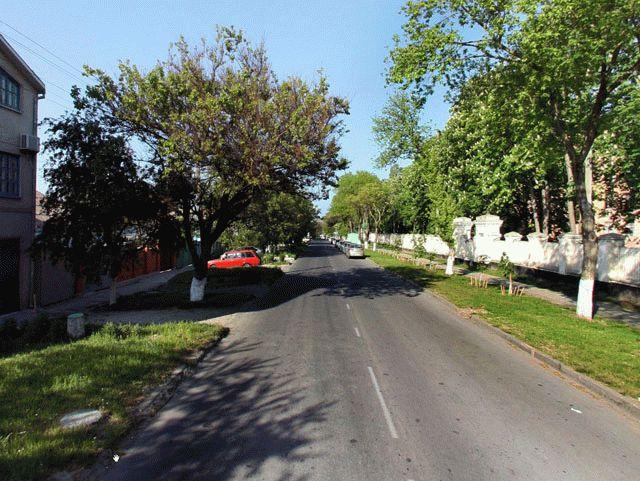Улица Трудящихся в Анапе
