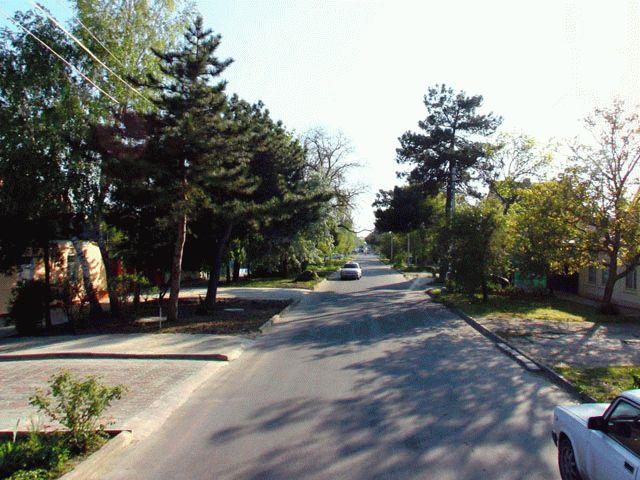 Улица Тургенева в Анапе