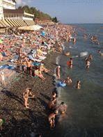 Лазаревский район Сочи - пляж