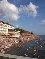 Пляж Лазаревский район Сочи