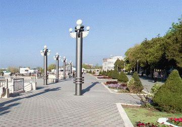 Улица Набережная в Анапе