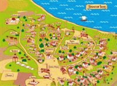 Атамань - карта