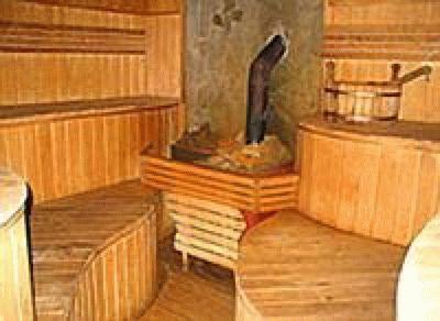 Баня в отеле «Долина Сукко»