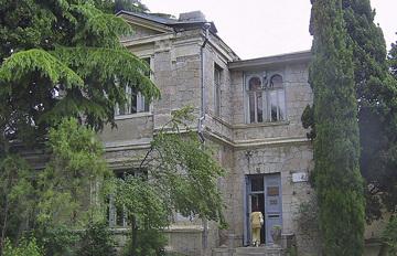 Дача Голубка в Алуште