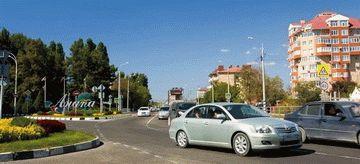 Дорога в город-курорт Анапа