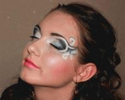 Фантазийный макияж в Анапе