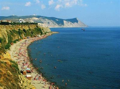 Галечный пляж Анапы