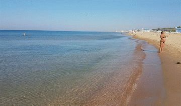 Где в Анапе чистое море?