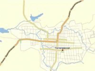 Карта - Гостагаевская
