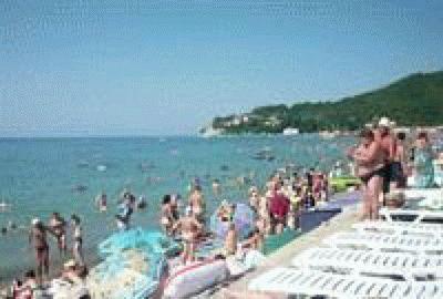 Пляж в Кринице