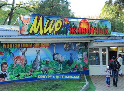 Маленький зоопарк в Анапе - Мир животных