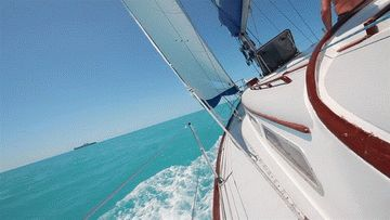 Морское развлечение - прогулка на парусной яхте