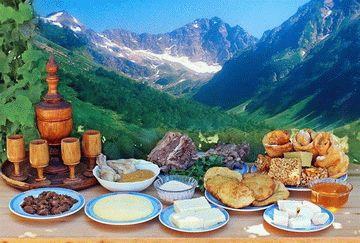 Национальная кухня Адыгеи