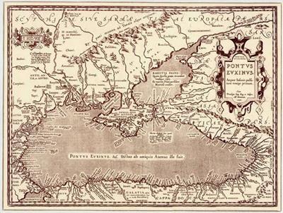 Название Черного моря