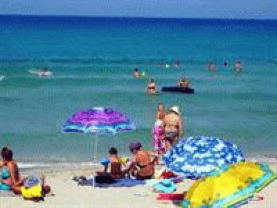 Пляжи в Оленевке