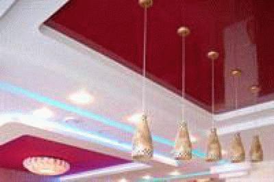 Натяжные потолки «Парижский стиль» в Анапе