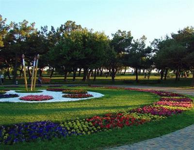 Парк Ореховая роща в Анапе