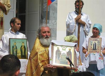 Пасхальный Крестный ход в Анапе
